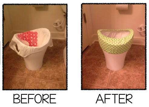 Small Bathroom Garbage Cans 5 common objections to using small trash bags plastic place blog