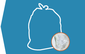 Clear Trash Bags