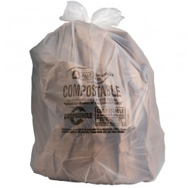 Sample Of 12-16 Gallon Compostable Trash Bags