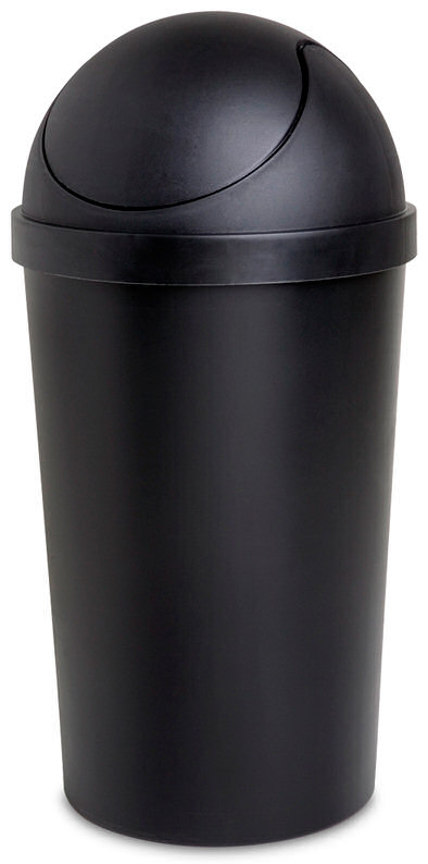10.5 Gallon Sterilite SwingTop Wastebasket