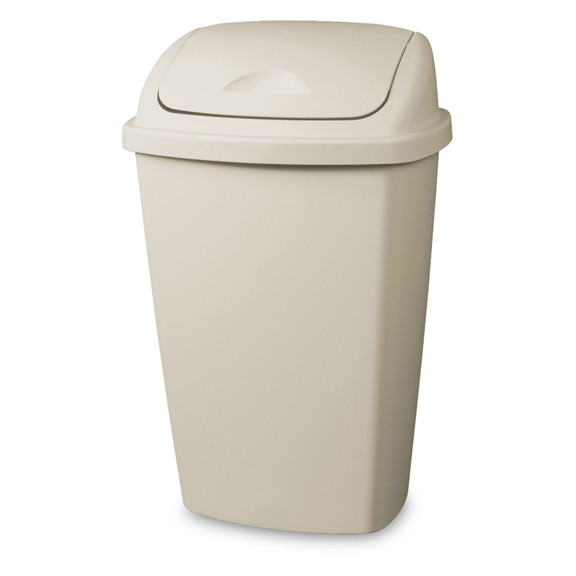 13 Gallon Sterilite Swing Top Wastebasket