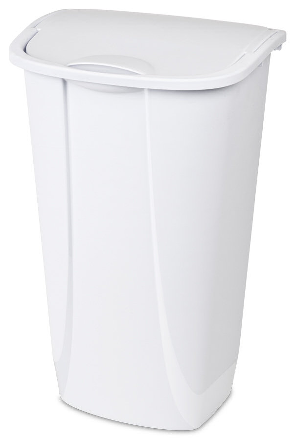 11 Gallon Sterilite Swing Top Wastebasket